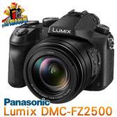 【24期0利率】平輸貨 Panasonic DMC-FZ2500 4K錄影 一年保固