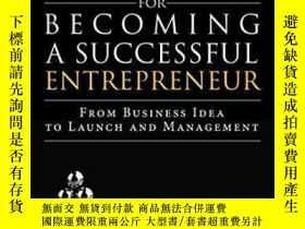 二手書博民逛書店Fundamentals罕見For Becoming A Successful Entrepreneur: Fro