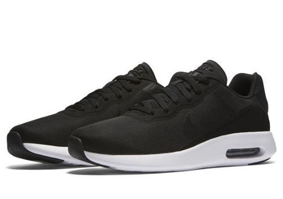 Nike Air Max Modern 男黑白氣墊復古慢跑鞋NO.844874001
