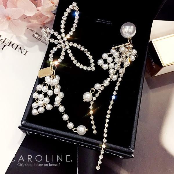 《Caroline》★韓國熱賣造型時尚Bling  Bling 絢麗閃亮動人耳環70364