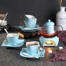 花茶茶具套裝陶瓷加熱底座下午茶杯花草水果玻璃茶壺禮品盒包裝WY