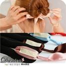 海綿寶寶盤髮器  韓國氣質甜美手作打緞帶蝴蝶結 盤髮器 S7232 批發價 Danica 韓系飾品 韓國連線