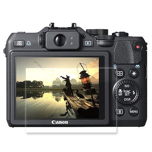 【晶豪泰】三明治式靜電 螢幕保護貼  適用 CANON G15 G16
