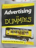 【書寶二手書T1/大學商學_XEN】Advertising for Dummies_Dahl, Gary