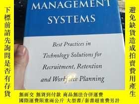 二手書博民逛書店Talent罕見Management Systems:Best Practices InY246860 ij.
