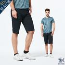 【NST Jeans】連穿3天也不識破! 黑單寧鬆緊帶短褲(中腰鬆緊修身版) 390(9498)大尺碼台灣製