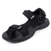 護趾包頭沙灘涼鞋男夏季男士涼鞋越南戶外運動休閒鞋潮流防滑羅馬