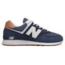 New Balance 574 男鞋 休閒 復古 緩震 麂皮 藍【運動世界】ML574TYA