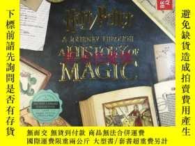 二手書博民逛書店訂購罕見哈利波特 魔法史之旅 美版 Harry Potter: