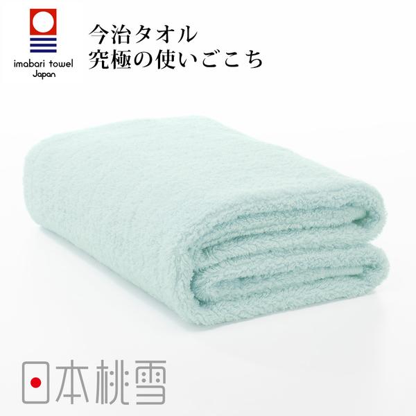 日本桃雪今治超長棉浴巾(水藍色) 鈴木太太