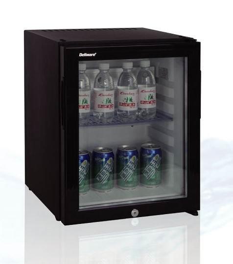 «0利率/免運費»Dellware德萊維 30公升 玻璃無聲 小冰箱 DW-30RTE 套房 飯店適用【南霸天電器百貨】