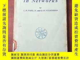 二手書博民逛書店flows罕見in networks(P3334)Y173412