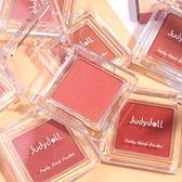 美妝腮紅 潤色絲滑單色腮紅修容自然顯白