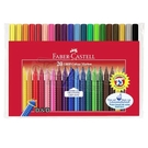 《 德國 FABER-CASTELL  》握得住抗壓三角筆桿彩色筆 20 色╭★ JOYBUS玩具百貨