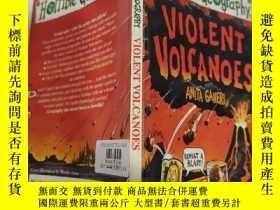 二手書博民逛書店horrible罕見geography violent volcanoes 可怕的地理火山..Y200392
