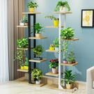 花架鐵藝多層室內裝飾落地省空間多肉花盆架花架子客廳綠蘿陽台
