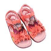 (零34.35.37)MODO.美麗開屏/舒適內裡-THE ONE-氣墊鞋涼鞋(全牛皮)-G50973 櫻紅