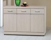 【南洋風休閒傢俱】餐櫃系列- 4尺碗盤櫃 櫥櫃 碗盤櫃 收納櫃 置物櫃 CX842-3