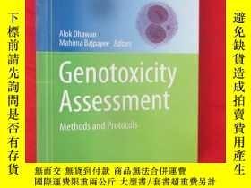 二手書博民逛書店Genotoxicity罕見Assessment: Method