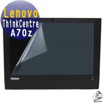 EZstick靜電式電腦LCD液晶霧面螢幕貼-Lenovo ThinkCentre A70z 19吋寬 專用