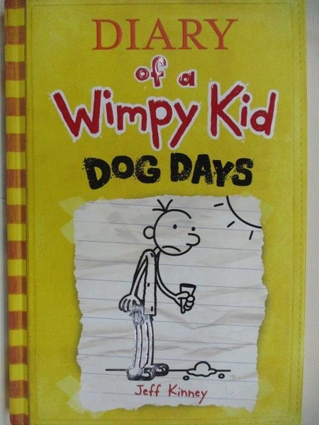 【書寶二手書T1/原文小說_ABP】Diary of a Wimpy Kid-Dog Days