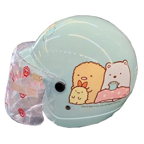 【東門城】華泰 K857 SG-1 角落小夥伴(藍綠) 半罩式安全帽 兒童帽