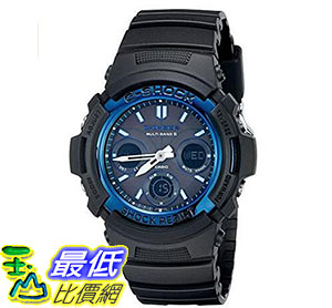 [美國直購] 手錶 Casio Mens AWG-M100A-1ACR Solar Analog-Digital Display Watch