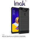 【愛瘋潮】Imak ASUS ZenFone 6(2019) ZS630KL Vega 碳纖維紋套 四角氣囊 鏡頭保護 TPU套 背蓋式