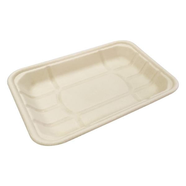 【點秋香】植纖食器12吋長方盤 (4入)