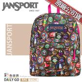 JANSPORT後背包包大容量JS-43501-0AF尋找貓頭鷹