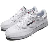 Reebok 休閒鞋 Club C 85 Pro 網球鞋 白 全白 鞋面皮革 運動鞋 男鞋【PUMP306】 CM9430