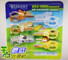 促銷至12月23日 Westcott 動物造型兒童安全剪刀6入 W123353 [COSCO代購]