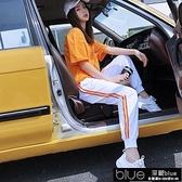 運動套裝女學生韓版寬鬆2021新款春夏季女裝時尚休閒短袖【全館免運】