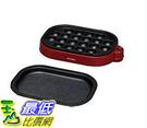 [東京直購] IRIS OHYAMA 2WAY 多用途電烤盤 ITY-20WA-R 紅色 附平盤 章魚燒盤