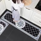 歐式廚房地墊 長條防水防油防滑墊子腳墊家用地毯 可手洗【快速出貨】