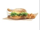 漢堡王 蜂蜜芥末脆雞堡+棒棒腿+洋聰圈