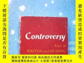 二手書博民逛書店controversy罕見logic in WRITING AN