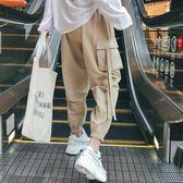 工裝褲CARGO工裝褲子女2019新款夏薄款情侶束腳顯瘦BF嘻哈帥氣寬鬆休閒 伊羅鞋包