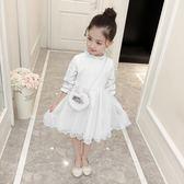 [gogo購]女童春裝2018新款洋氣連身裙