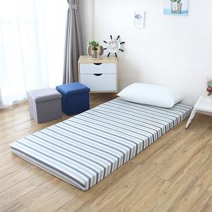 水洗純棉可折疊式高彈力棉床墊-單人