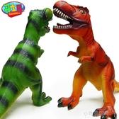 哥士尼恐龍玩具 仿真動物軟膠大號霸王龍 大恐龍玩具塑膠模型YXS 【快速出貨】