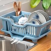 碗筷瀝水收納盒碗櫃家用廚房放碗碟置物架裝餐具籃箱晾洗水槽濾水