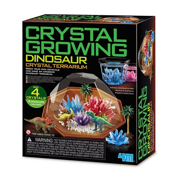 《4M科學探索》侏儸紀水晶花園 Dinosaur Crystal Growing / JOYBUS玩具百貨