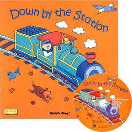 『鬆聽出英語力--第3週』- DOWN BY STATION /書+CD (JY版)《主題:歌謠故事》