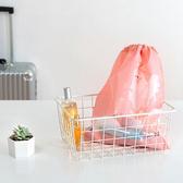 ✭慢思行✭【P293】便攜式防塵束口袋(大) 透明櫥窗 整理包 旅遊 出國 洗漱用品 毛巾