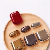 Airpods2電鍍保護套韓國ins創意蘋果無線藍牙耳機 伊鞋本铺