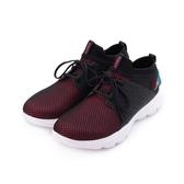 SKECHERS GO WALK EVOLUTION ULTRA 綁帶運動鞋 黑白紅 15726BKHP 女鞋