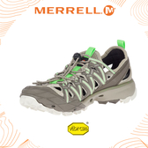 【MERRELL 美國 女 Choprock Shandal 《淺棕/綠》】52772/水陸兩棲鞋/多功能鞋/休閒鞋/低筒鞋