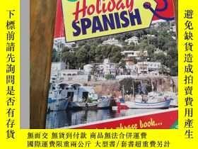 二手書博民逛書店Teach罕見Yourself Holiday Spanish