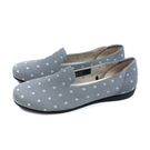 inooknit 懶人鞋 樂福鞋 灰色/點點 編織 女鞋 IK-BJ1FW0407-888 no023
